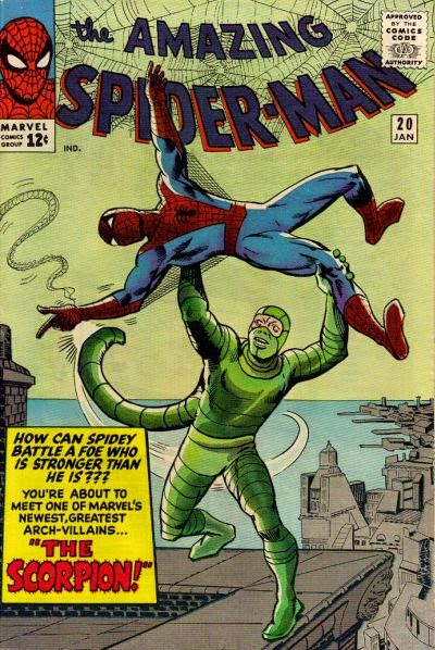 Amazing Spider-Man #20, the Scorpion