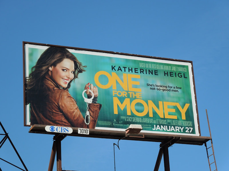 One for the Money billboard