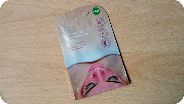 Superdrug Hydrating Self Heating Mask Review