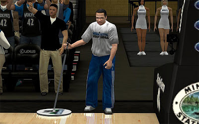 NBA 2K13 Minnesota Timberwolves Janitor Fix