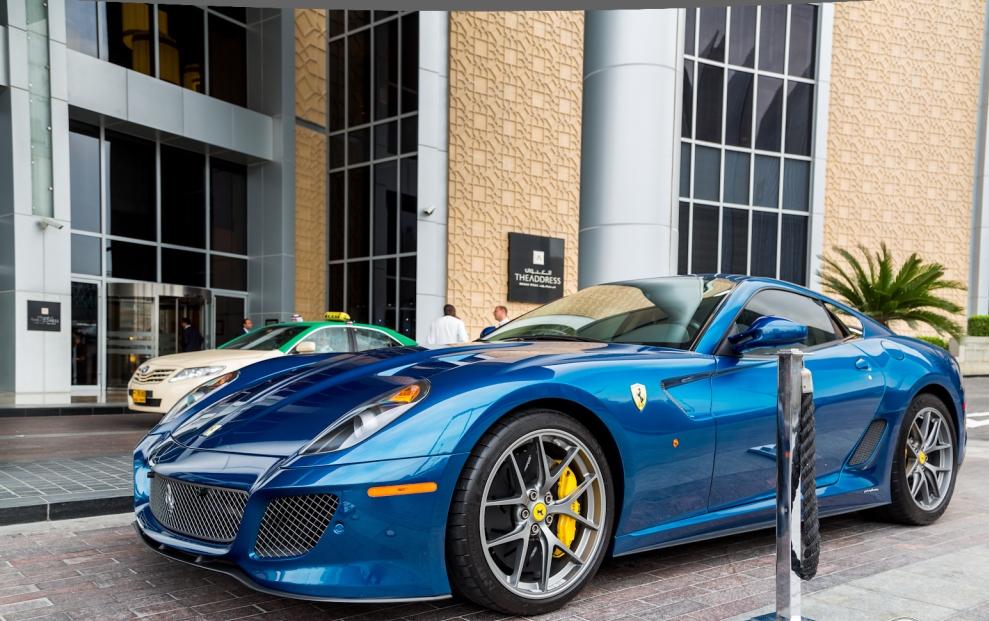 Petrol Blue Ferrari 599 Gto Looks Incredible