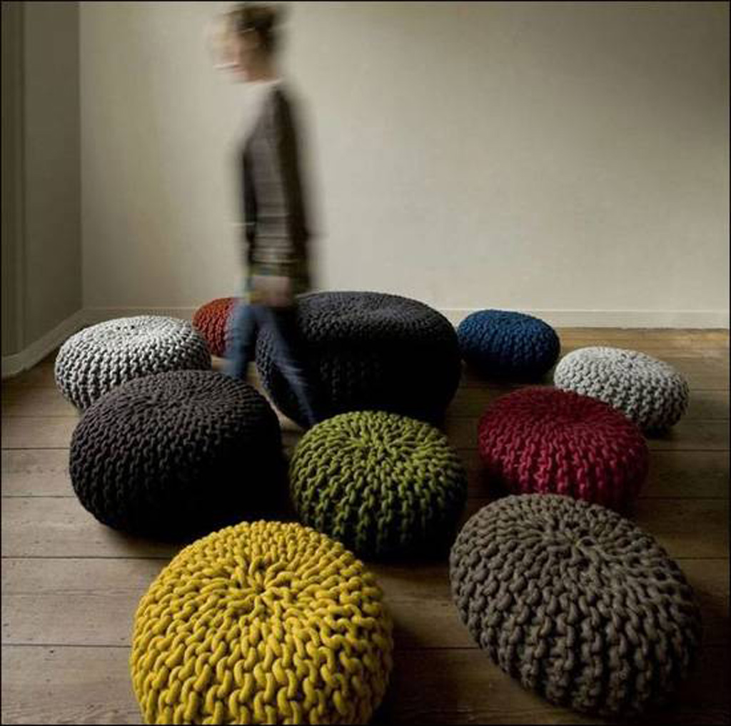 Pouf salon design