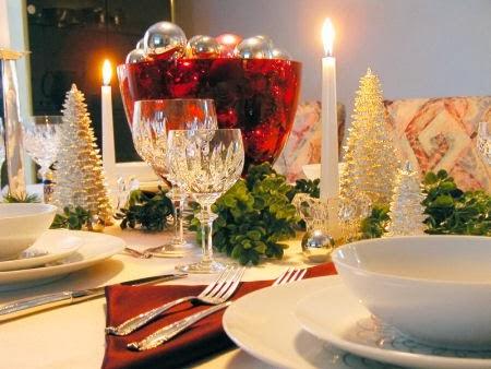 Fatto in casa come apparecchiare la tavola di natale in modo elegante e raffinato - Apparecchiare la tavola di natale ...