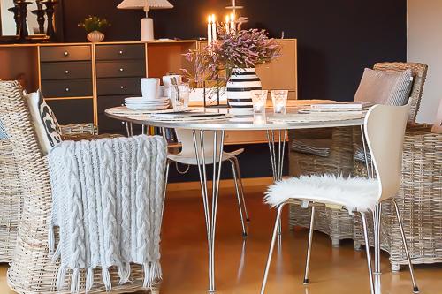 Amalie loves Denmark - Unser Esszimmer im Herbst