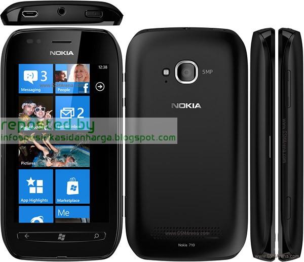 Spesifikasi Nokia Lumia 710 Hp Terbaru 2012