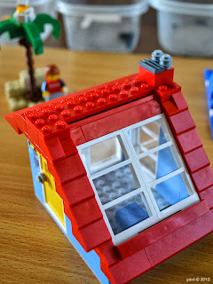 lego beach house - skylight