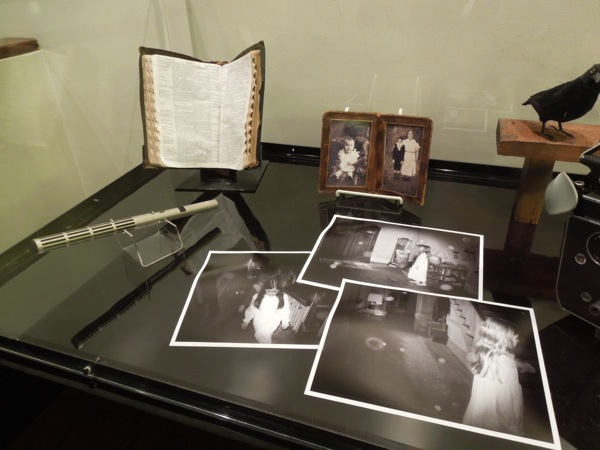The Conjuring spooky movie props