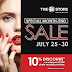 SM Beauty Section Special Month End Sale July 25 to 30