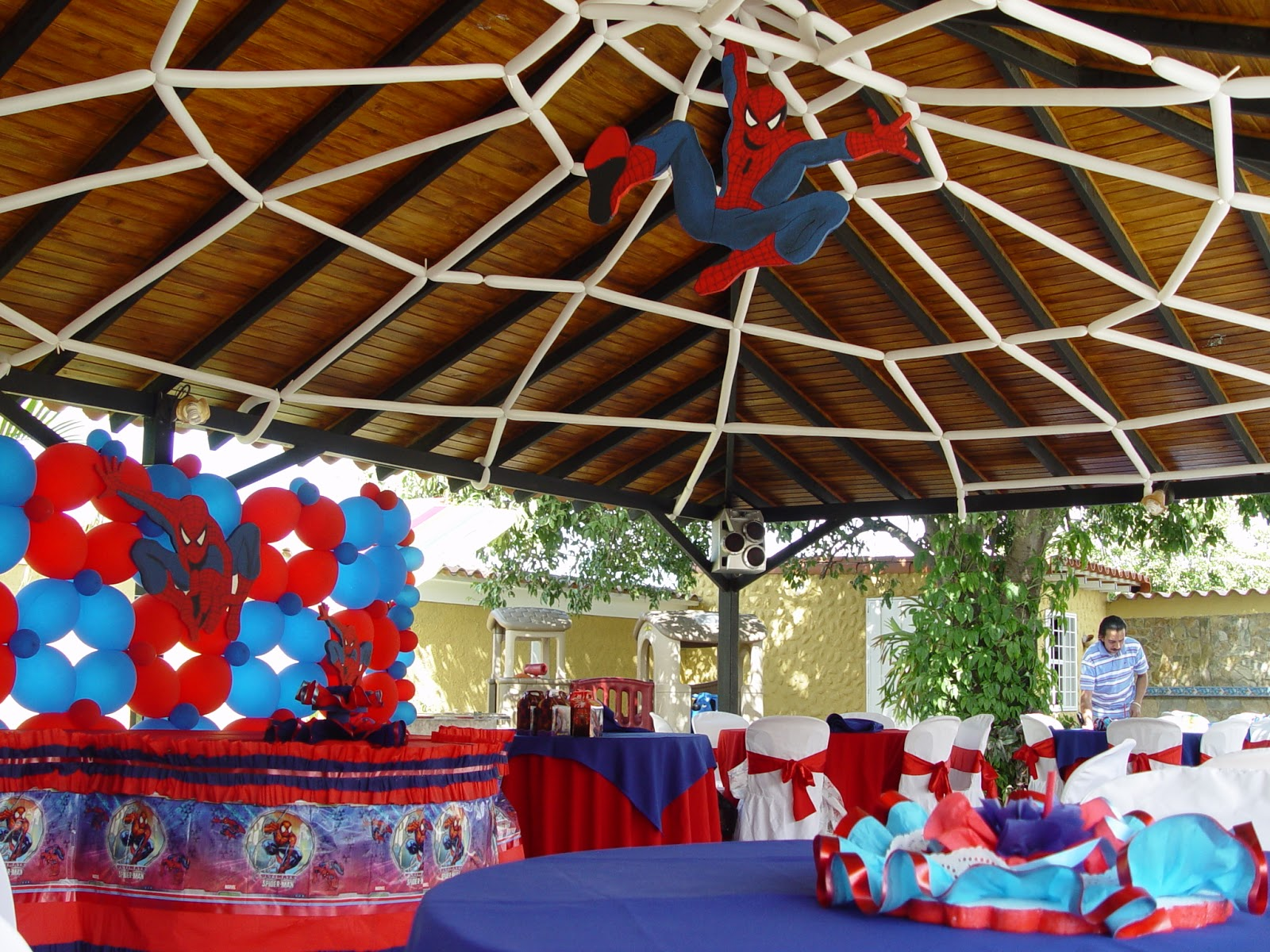 Decoracion de techos para fiestas infantiles for Buscar decoraciones