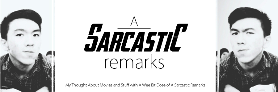 A Sarcastic Remarks