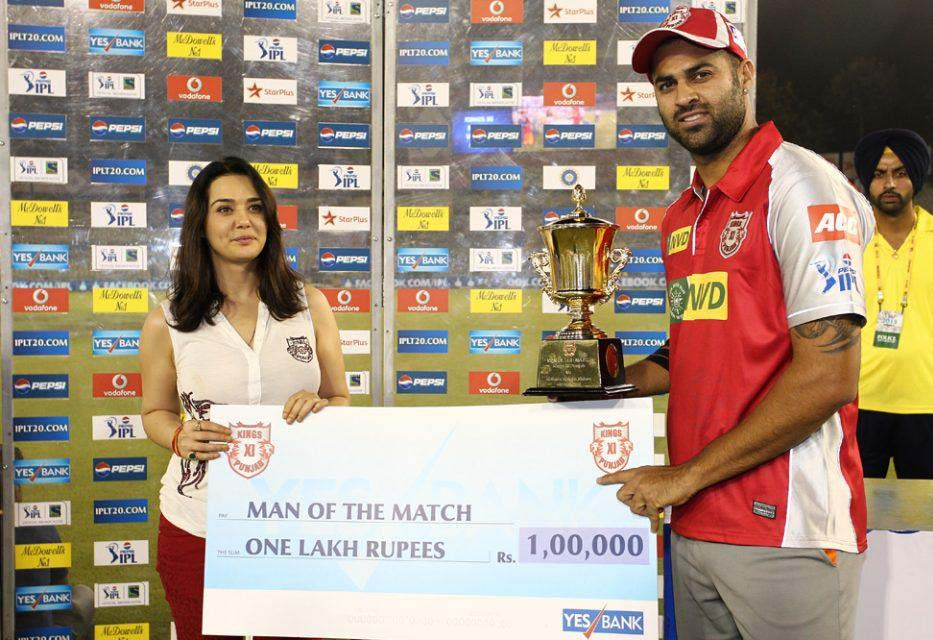 Manpreet-Gony-man-of-the-match-KXIP-vs-KKR-IPL-2013