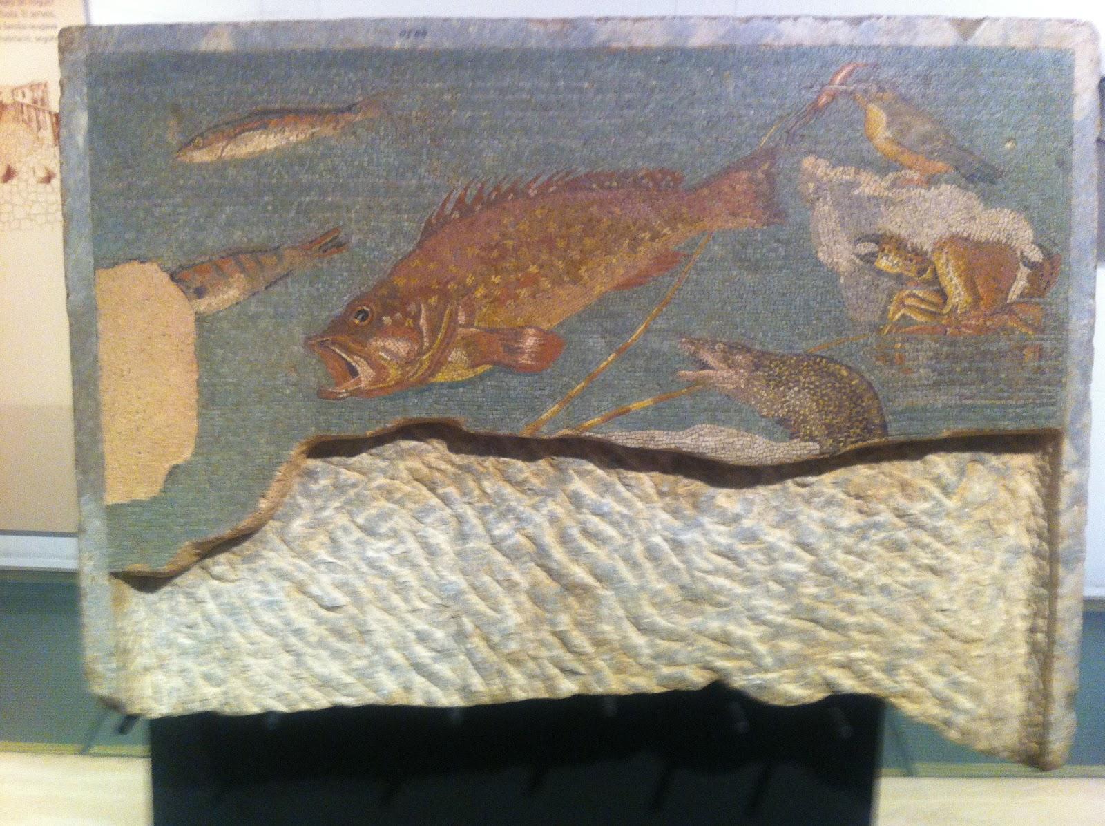 Tocho t8 museo arqueol gico de catalu a en barcelona - Murales de ceramica artistica ...