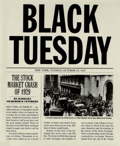 federal reserve stock market crash