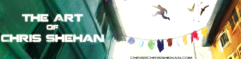 ChrisShehan ArtBlog