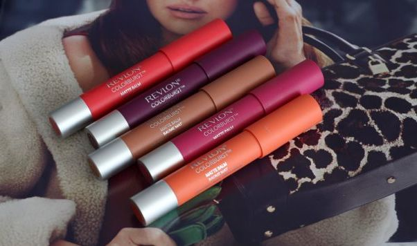Revlon Color Burst Matte Balm Swatches in Unapologetic, Shameless, Showy, Complex, Mischievous
