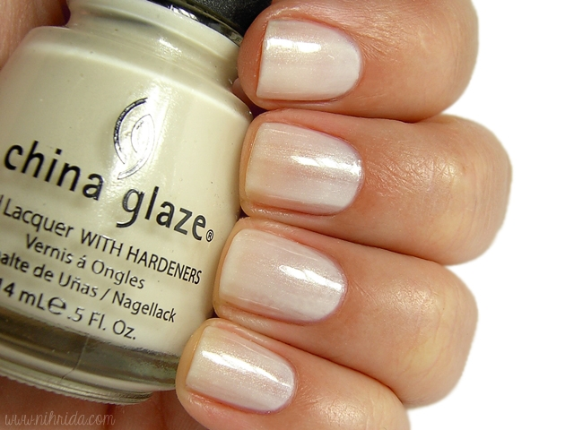 China Glaze - White Ice