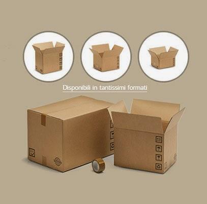 scatole di cartone napoli