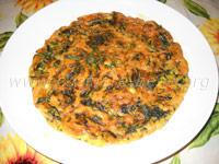 Ricetta frittata di spinaci