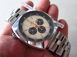 BUCHERER PANDA DIAL CHRONOGRAPH - MANUAL WINDING 873