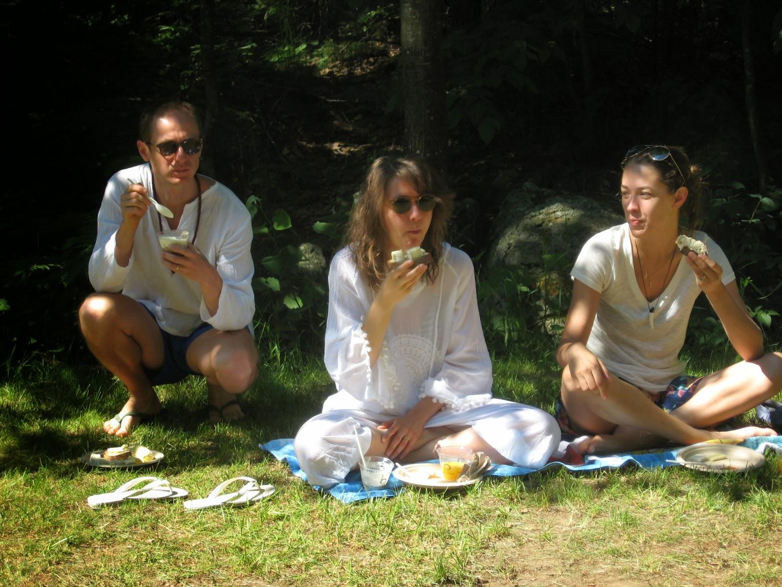 Пригласили парней на пикник 10 фотография
