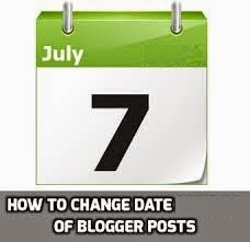 How to Change the Date of a Post in Blogger Blog : eAskme