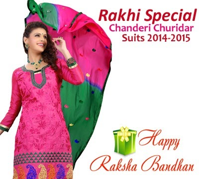 Raksha Bandhan Indian Churidar Suits