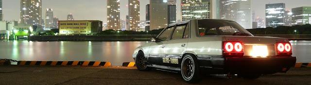 Nissan Skyline R30 japoński sportowy samochód, RWD, lata 80