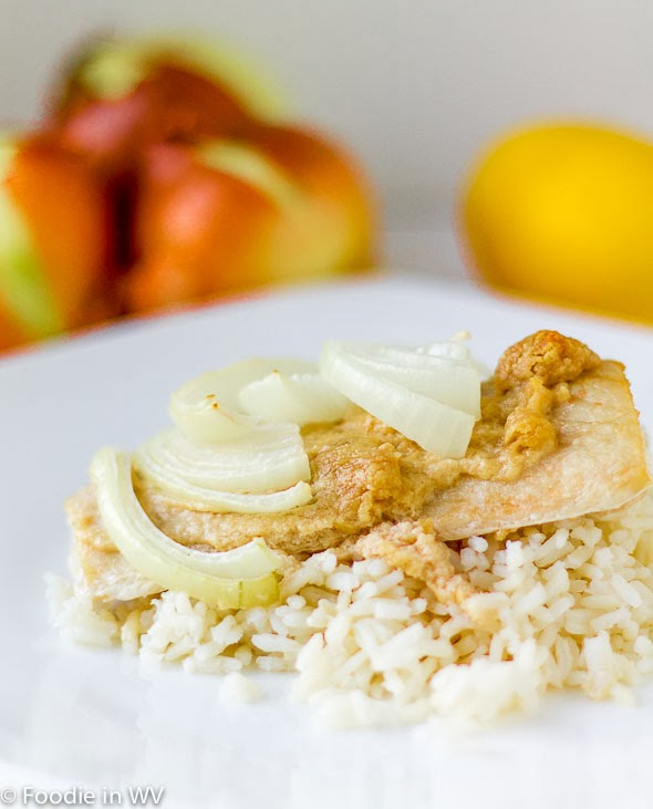 Click for recipe for fish with tahini