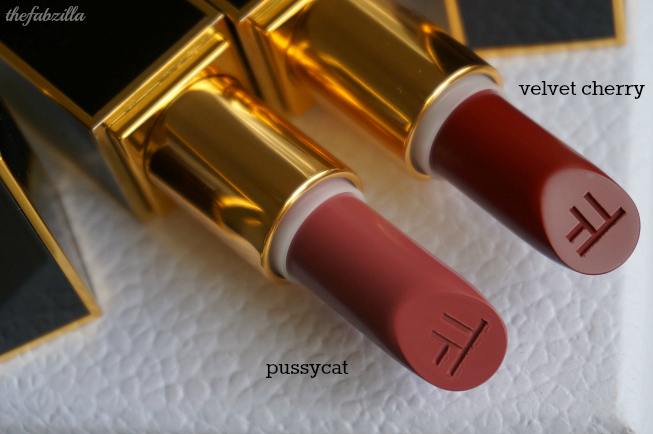 Tom Ford Lip Color Matte, Review, Swatch, Velvet Cherry, Pussycat