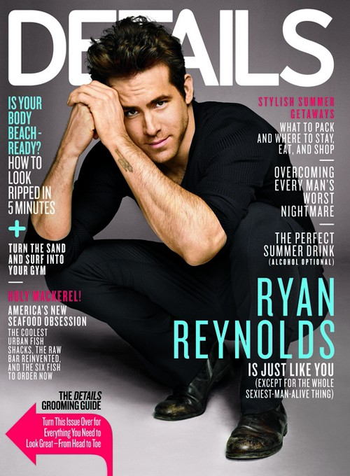 Ryan Reynolds Opens Up About His Divorce With Scarlett Johansson To DETAILS Mag