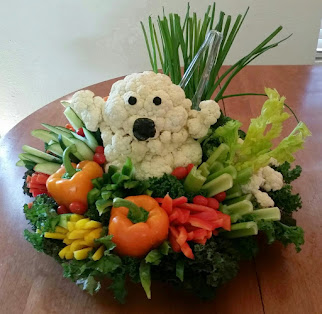My Famous Veggie Easter Bunny