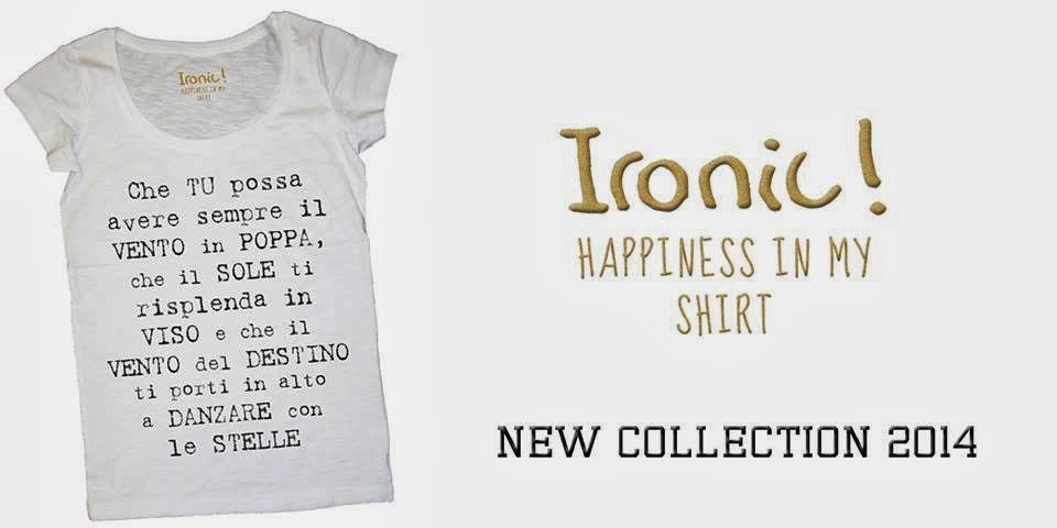 Ironic ! happines in my shirt