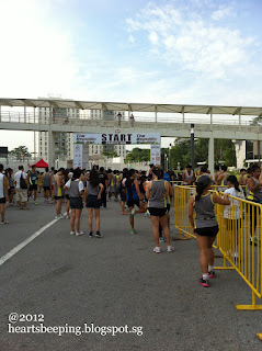 Republic Poly Run 2012, Starting point