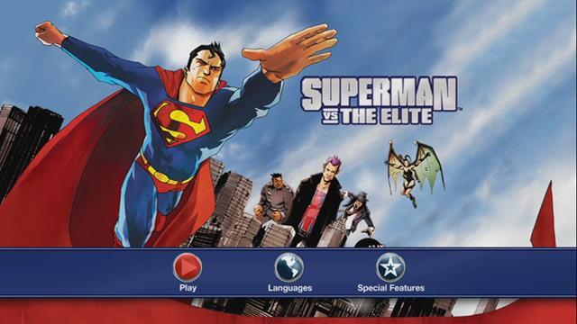 Superman vs La Élite DVDR NTSC Español Latino Descargar 2012