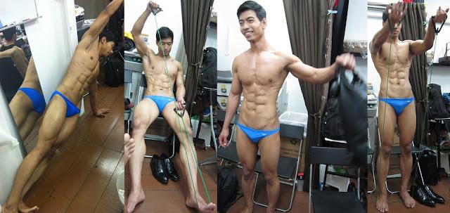 skirt thong naked babe