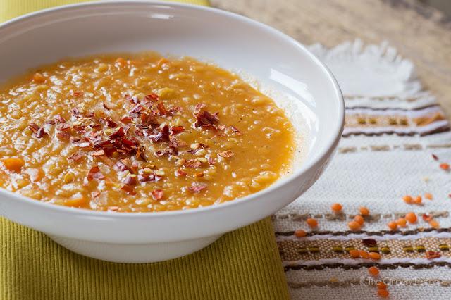 Супа с турска червена леща