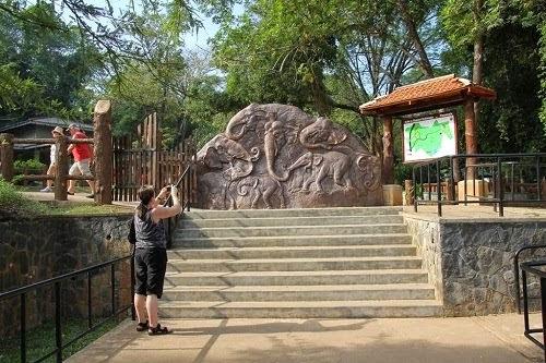 Pinnawalaの動物園