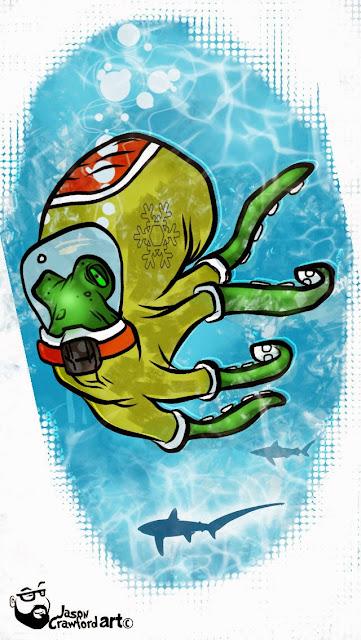 creativeprompt octopus illustration