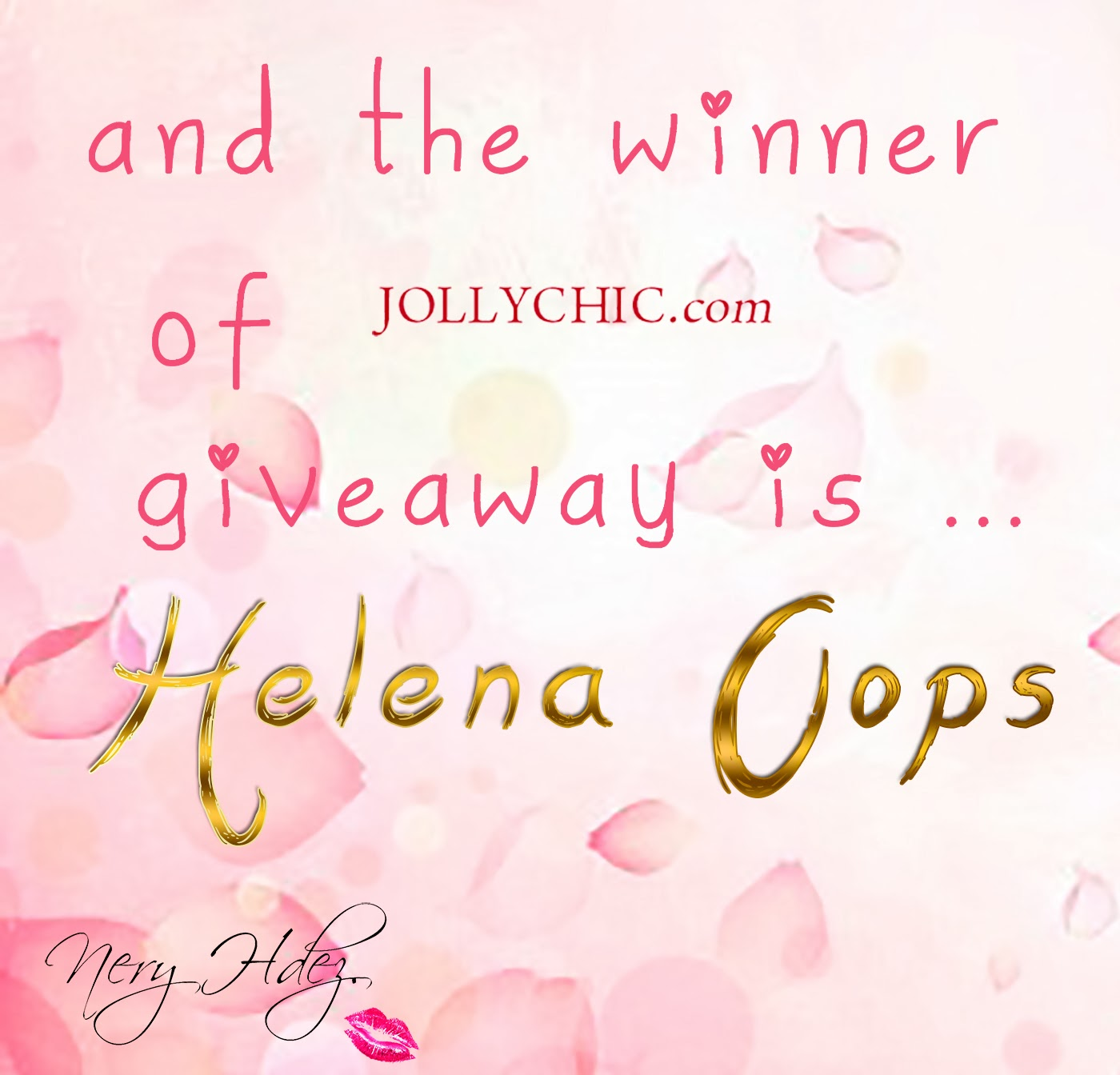 jollychic, sorteo, giveaway , nery hdez blog, blog de tenerife