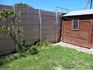 My Garden in Cape Town: before