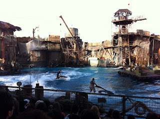 WaterWorld Stunt Show.