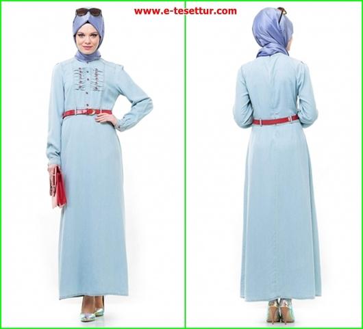 Aramiss Bayramlık Denim Elbise