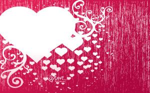 Hình nền trái tim tình yêu dễ thương cho điện thoại