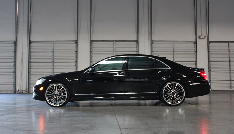 Gianelle trentino on mercedes s550 giovanna luxury wheels for 24 inch mercedes benz rims