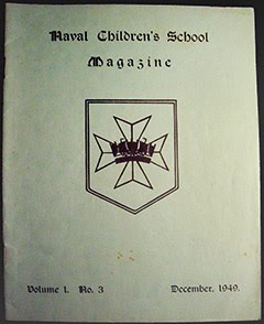 Naval Children's School - 1949 Mag