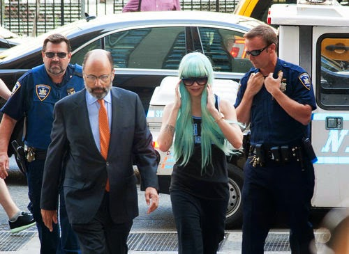 Amanda Bynes was arrested