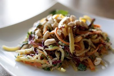 Vegan Recipe Raw Pad Thai