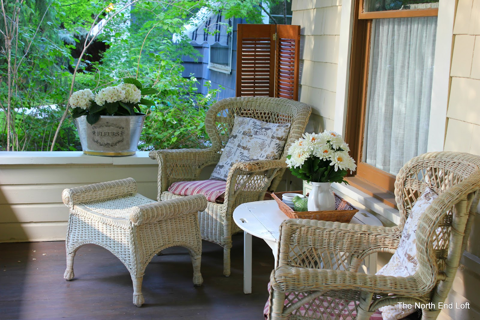 The North End Loft: My Front Porch