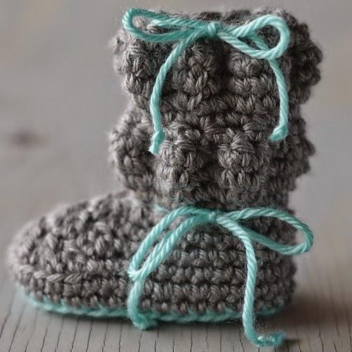 free crochet pattern baby boots