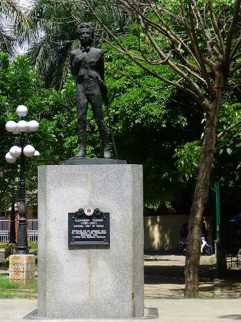 Statue of Alexander Pushkin, Manila